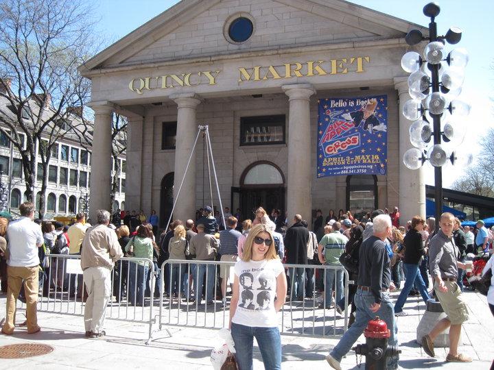 Me @ Quincy Market